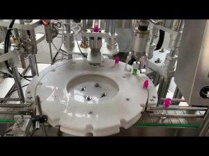 liquide électronique automatique de cigarette, remplissage d'huile de CBD obstruant la machine à étiquettes de capsulage