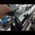 machine de capsulage en ligne automatique de bouchon en aluminium de bouteille en verre droite en ligne